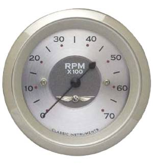 Instrument Gauges - Tach 7000rpm - All American Series 12v Photo Main