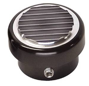 Dimmer Switch Cap, Black Anodized Billet Photo Main