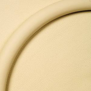 "Steering Wheel Half Wrap For Billet Wheel -14"" Bone Leather Photo Main"