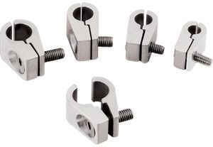 "Line Clamps -3/16"" Single -Billet -4 pack Photo Main"