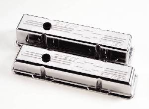 Valve Covers Billet Chevy SB, Chevy Power-Tall Photo Main