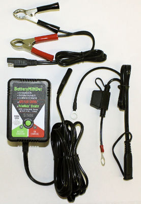 Battery Charger - Battery Maintainer / Minder / Charger, 6 Volt Photo Main