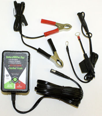 Battery Charger - Battery Maintainer / Minder / Charger, 12 Volt Photo Main