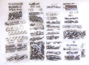 Body Bolt Kit, Complete From Headlight to Tail Lights - Stainless Steel Photo Main