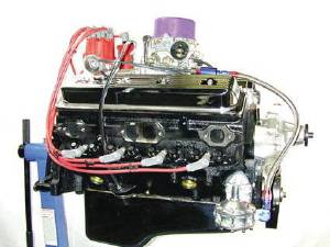 Crate Engine, GM - 355ci (Chevy Small Block) Vortec Heads - 385hp With Carb & Ignition Photo Main