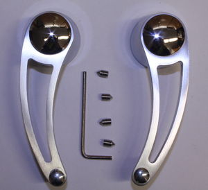 Door Handle Levers, Interior Billet, Open Design Photo Main