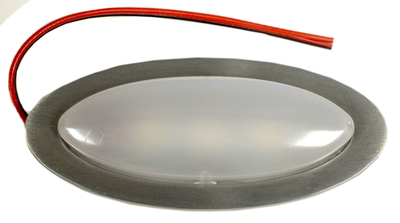 Billet Oval Courtesy Dome Lamp, 12 Volt Photo Main