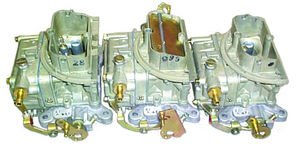 Carburetor - Ford. New, 2436-2437 Tri Power Carburetors - 390 & 406 Photo Main