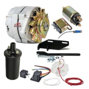 "12 Volt 100 Amp Conversion Kit For Solenoid Starter W/ 3/8"" Pulley Photo Main"