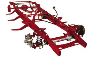 Chassis - Complete, 47-53 Chevy Truck. Custom Ifs With Leaf Spring Rear (Plain Package) Photo Main