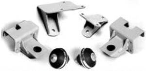 Motor Mount Kit. Bolt-On For 37-39 Chevy Deluxe Car, '58 & Up Small Block Photo Main