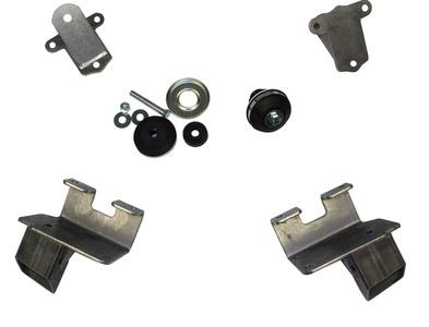 Motor Mount Kit. Bolt-On For 1940 Chevy Cars With CE Must II IFS Kit, '58 & Up Small Block Photo Main