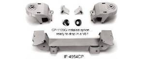 Motor Mounts. Weld-On Option For Chevy Small Block Crossmember If-4954cp Photo Main