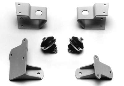 Engine Mounting Kit - (Bolt On) Chevy Small Block ('58 & Up) Into Mercury Car With Cross Steer Or C.e. Adapter Frontend Photo Main