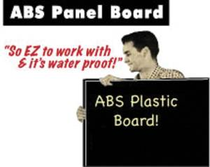 "Door Panel Board, ABS - 1/8"" X 49"" X 32""  - Blank Photo Main"