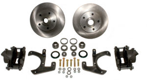Brake Disc Conversion Front - 41-48 Knee Action. Complete Kit. 5 Lug (No 6 Lug) Photo Main