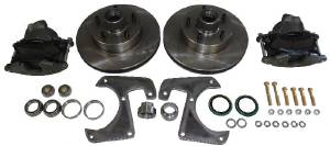 Front Disc Brake Conversion - 41-54 Chevy Truck 1/2 Ton. Complete Kit - 5 Lug Photo Main