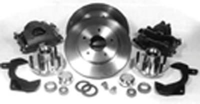 Brake Disc Conversion Front- Street Rods With GM Subframe (68-74 Nova, 67-69 Camaro, 64-72 Chevelle With Drum Brake Spindles). Complete Kit Photo Main