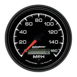 "Instrument Gauges - Auto Meter Es Series 3-3/8"", 160 Mph, Programmable Speedometer Photo Main"
