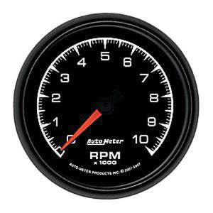 "Instrument Gauges - Auto Meter Es Series 3-3/8"", 10,000 Rpm Tach Photo Main"