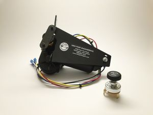 Cadillac Series 60, 62, 75c, 61 Uses Linkage Electric Wiper Motor 12 Volt  Photo Main