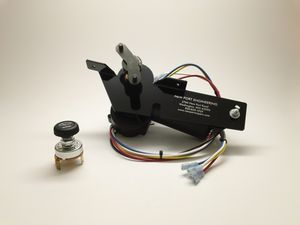 Dodge and Plymouth Passenger Car Electric Wiper Motor 12 Volt, Replaces Stock Vacuum Motor Photo Main