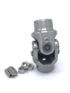 "Steering Shaft U-Joint (Stainless Steel) 5/8""-36 Box/Column, 3/4"" DD Shaft (Flaming River) Photo Main"