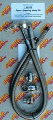 Power Steering Hose Kit. Ford Rack To GM Pump (2 Piece Rack Housing) Photo Main