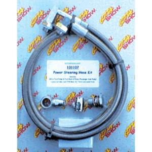Power Steering Hose Kit. Ford or GM Pump To Ford Rack & Pinion Photo Main