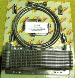 Transmission Cooler -GM Or Ford, Frame Mounted Remote Cooler (Includes Cooler) Photo Main