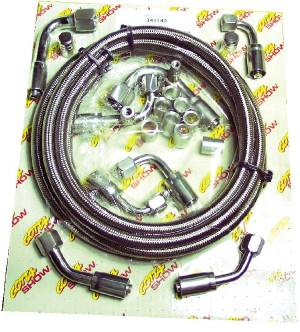 "Air Conditioning Hose Kit, ""Smoothie"" Compressor Fittings With Service Ports Photo Main"
