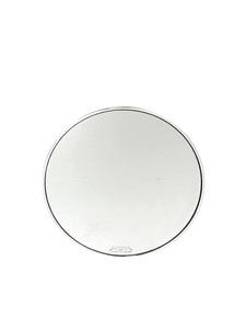 "Rear View Mirror, Fatties Super - Round Head 4"" Polished Photo Main"