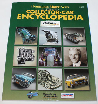 Book, Hemmings Collector Car Encyclopedia Photo Main