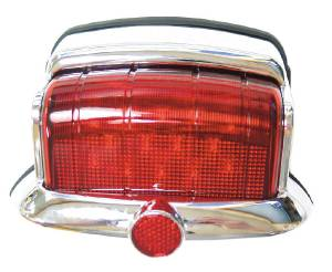 Led Tail Light - 46-48 Plymouth Chrome, 12 Volt Only 12 Volt Photo Main