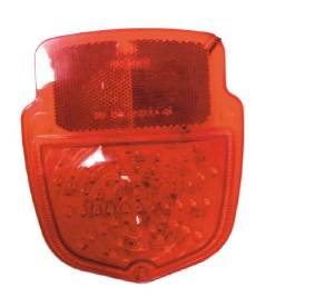 Tail Light Lens. 53-56 Ford Truck, Right Side 12v Photo Main