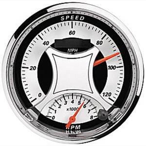 "Instrument Gauges - Auto Meter Mcx Series, 5"" Speedo Tach Combo (Electric) Photo Main"