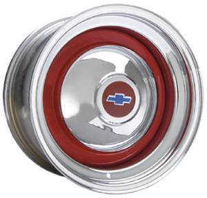 "Wheel -Custom Nostalgia, Chrome Rim, Bare Center. Available In 14"", 15"" Or 16"" Photo Main"
