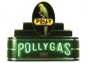 "Sign, Neon Marquee -Poly Gas. 34"" Length X 24"" Height & 8"" Deep. Black & Red Photo Main"