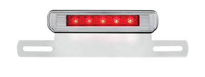 License Plate Frame - Chrome Hotrod Led 3rd Brake light  Photo Main