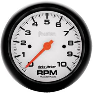 "Instrument Gauges - Auto Meter Phantom Series 3-3/8"" 0-10,000 Rpm Tachometer Photo Main"