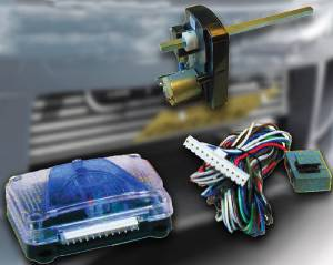 License Plate Flipper - Electric, Retractable License Plate Motor With Controller Photo Main