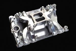 Intake Manifold - Polished Crosswind, Olds 400-425-455 Photo Main