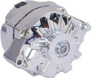 Alternator Gm 1955-Up Chrome  - 100 Amps, Remanufactured Photo Main
