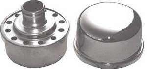 "Valve Cover Chrome Push-In Breather Cap, 2-3/4"" Diameter Photo Main"