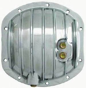 Differential Cover, Polished Aluminum Dana 25-27-30  -10 Bolt (Includes Gasket & Hardware) Photo Main