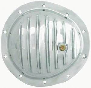 Differential Cover, Polished Aluminum GM  -10 Bolt Front (Includes Gasket & Hardware) Photo Main
