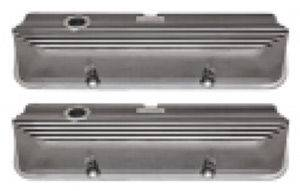 Valve Covers - Ford Fe 390-428, Finned Polished Aluminum Photo Main