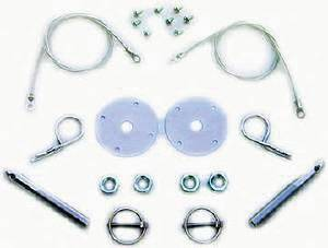 "Hood Pin Set With Torsion & Hair Pin Clip (1/2"" Dia) Photo Main"