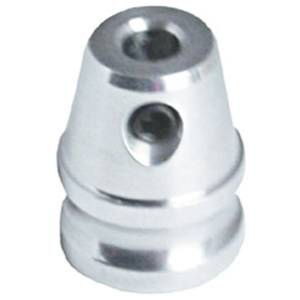 "Polished Machined Aluminum Dash Knob - 1/4"" Hole Photo Main"