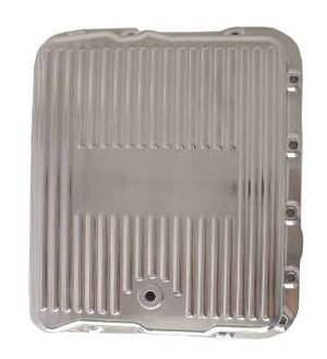 Transmission Pan Polished Aluminum GM Turbo 700r4  -Finned (Includes Gasket & Hardware) Photo Main